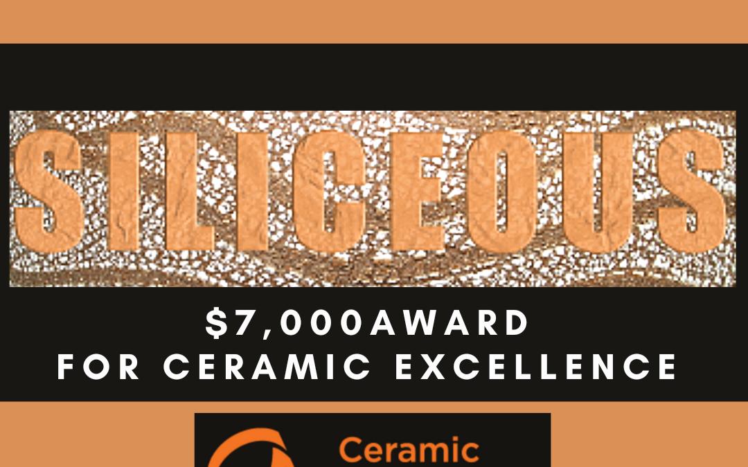Call for Entries 2021 Siliceous Award