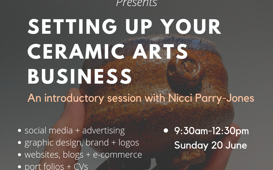 Setting up your ceramic arts business