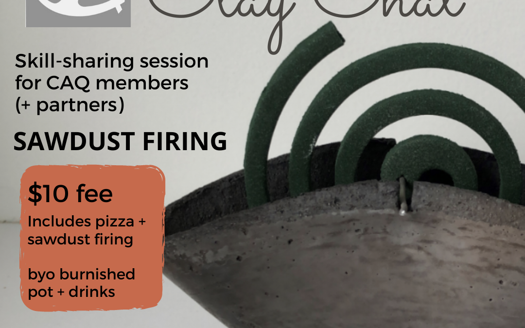 Clay Chat Session – Sawdust Firing
