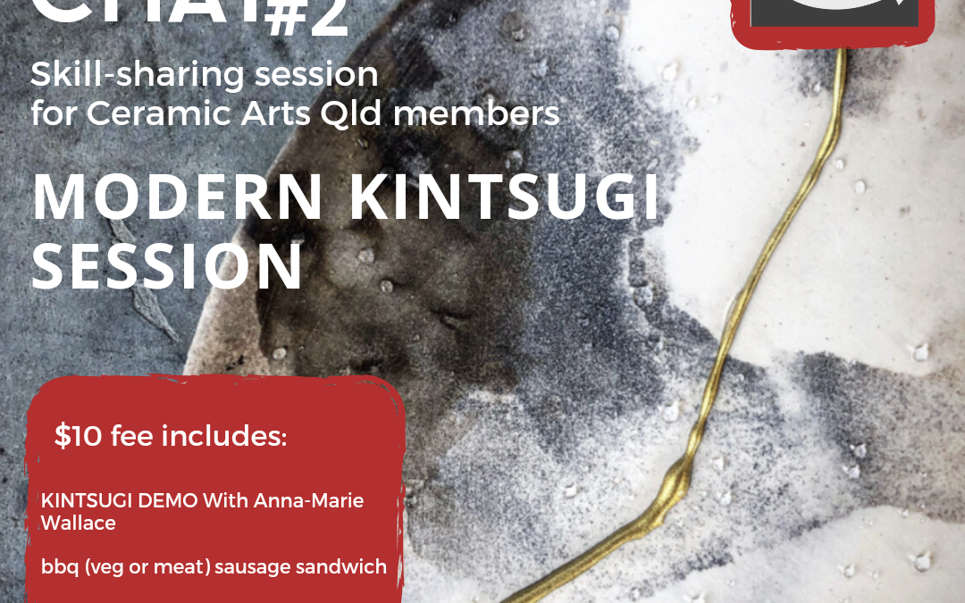 Clay Chat #2 Modern Kintsugi Session